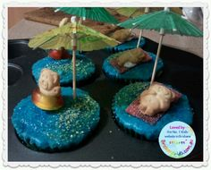Tiny teddy island Cake Stall, Teddy Bear Cakes, Tiny Teddies, Family Day, Christmas Ideas, Biscuits, Cake Decorating, Food Ideas, Parties