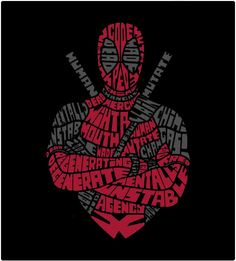 Deadpool Concept Tee Design by Batmandu Deadpool Y Spiderman, Deadpool Tattoo, Deadpool Love, Deadpool Funny, Deadpool Stuff, Black Spiderman, Deadpool Wallpaper, Marvel Wallpaper, Black Wallpaper