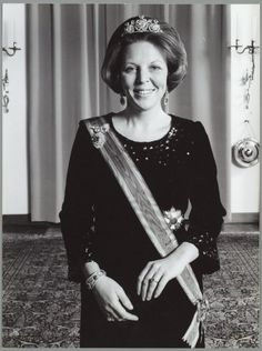 Beatrix, the former queen regnant of the Kingdom of the Netherlands