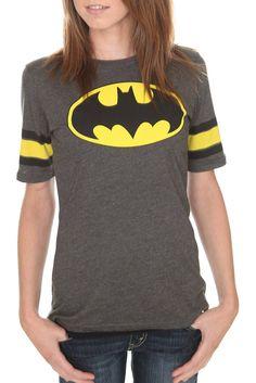 "DC Comics: $25-$30 ""Batman Hockey Girls T-Shirt"""