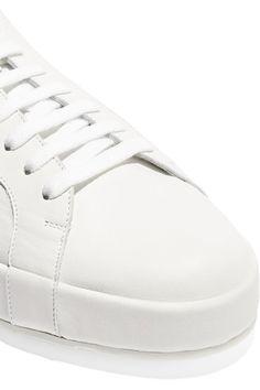 Jil Sander - Leather Sneakers - White - IT36