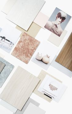 This mood board was commissioned by @decotec.printing to communicate their new surface collection in a less technical and more creative way.  The materials board is based on the interior design trend Time Out we previously developed for the client. #moodboard #eclectictrendsstudio #moodboardacademy #materialsboard
