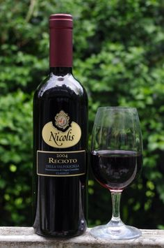 Recioto della Valpolicella Classico Nicolis 2004 Veneto Italy, 50 cl £26.99    This sweet red is a great alternative to Port and although expensive is worth it. This is the sweet variant of Amarone. Complex aromas of coffee, marzipan and red berry. Sweet, but not overtly so, with fresh acidity, ripe tannins.    http://stickywines.co.uk   In The Netherlands available at www.amarone-ripasso.com