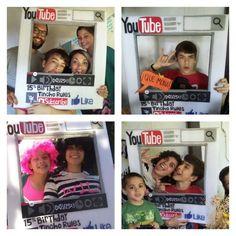 Youtubers #15thbirthday