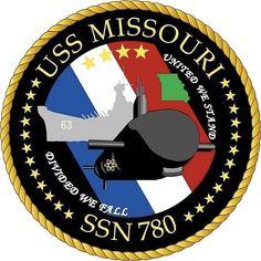 USS Missouri (SSN 780) Ship Crest