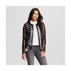 Women's Vegan Leather Jacket Black  - Bagatelle City ($120) found on Polyvore featuring women's fashion, outerwear, jackets, black, vegan jacket, fake leather jacket, vegan leather jacket, faux leather jacket and imitation leather jacket