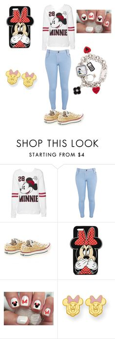 """"""""""" by fatalbertsquad ❤ liked on Polyvore featuring Disney, Influence, Converse, Forever 21, Kevin Jewelers, women's clothing, women, female, woman and misses"""