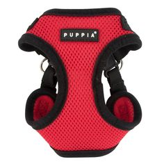The Soft Comfort Harness by Puppia features a solid color and schemed. This harness features two quick release buckles around the neck and girth. Breathable 100% soft polyester mesh. Comfortable neck. Why We Love It: A simple dog harness is a staple for any dog! Comfortable and safe for your precious puppy. Features: Puppia rubber label Adjustable neck and chest with a buckle Includes: 1 Harness Intended For: Dog and Cat Leash Type: Comfort Harness Color: Available in Black, Camo, Pink, Red, Sky Cat Leash, Designer Dog Clothes, Puppy Collars, Dog Shampoo, Pet Paws, Medium Dogs, Dog Harness, Dog Design, Small Dogs