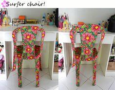 Blog da Tammy: DIY : Cadeira de Chita!