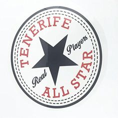 TENERIFE ALL STAR Iron On Transfer Patches DIY -- Click on the image for additional details.
