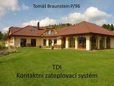 TDI Kontaktní zateplovací systém