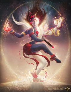 """Kali and the new age of abundance for all- Geoglyphiks 