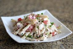 Cookout-Ready Pasta Salad with Chicken and Bacon