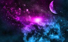 moon sun stars clouds galaxy pinterest | Uploaded to Pinterest