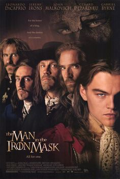 The Man in the Iron Mask (I1998) THE MAN IN THE IRON MASK The cruel King Louis XIV of France has a secret twin brother who he keeps imprisoned. Can the twin be substituted for the real king?