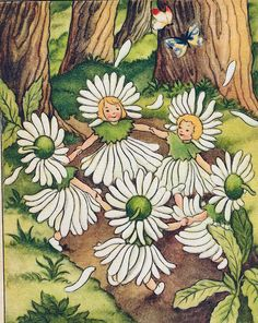 Soloillustratori: Дети цветов
