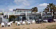 Fachada principal. Tiburon Beach Club. Castelldefels.