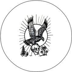 Russian Prison Tattoo #18 pin (pinA936)