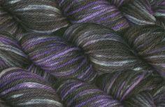 Hand dyed 55% alpaca / 25% wool / 20% nylon shrink-resist DK 'Temptress'