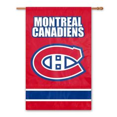 Montreal Canadiens Banner Flag, Multicolor