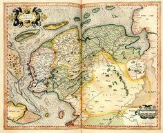 Friesland 1596 Early World Maps, Know Your Place, Hellenistic Period, Classical Antiquity, Old Maps, Topographic Map, Netherlands, Holland, Geography