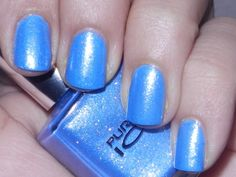 Pure Ice Nail Polish - In the Mood - Blue $5.25