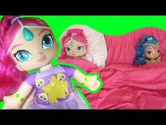 Shimmer and Shine Bedtime Wishes Shimmer Nickelodeon Fisher Price Night Time Doll - YouTube
