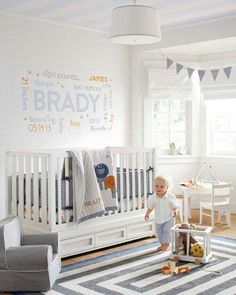 Neutral nursery that transitions into a toddler room easily :)