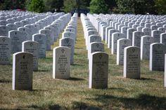 Arlington National Cemetery in Arlington, Virginia