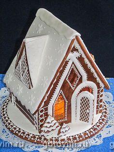 Пряничный домик. Фотография рецепта