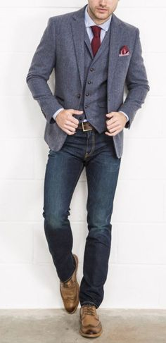 """46 Amazing And Cozy Casual Business Outfit For Men """"Leadership is the ability to get extraordinary achievement from ordinary people"""" Fashion Mode, Urban Fashion, Fashion Trends, Style Fashion, Fashion Sites, Fashion Hacks, High Fashion, Winter Fashion, Womens Fashion"""