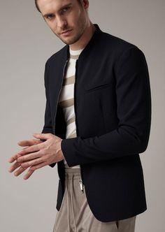 421a0eb32f4b2 Casual Jacket | Man | Giorgio Armani Giorgio Armani, Men Sweater, Suit  Jacket,