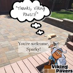Happy Friday! From the Viking Pavers family