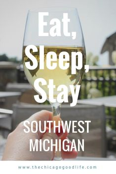 Everything from restaurants, hotels and wineries in Southwest Michigan. It's an easy day trip from Chicago and perfect Midwest getaway. #michigan #travel #midwesttravel