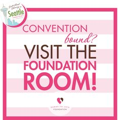 If you're attending Convention, make sure you put visiting the Foundation Room on your agenda! You will be able to purchase a Heart and participate in the famous Opportunity Drawing to win awesome prizes including some for collegians only! #Foundation #ShineInSeattle #GiveAHeart