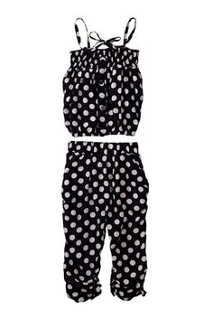 Polka Dot 2-Piece Outfit