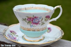 Royal Albert Vintage REVERIE SERIES Teacup And Saucer Set, English Bone China Tea cup, Wedding Gift, Replacmeent China, ca. 1970-1980