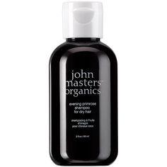 john masters organics Evening Primrose Shampoo for Dry Hair 2 oz (59... ($6) ❤ liked on Polyvore featuring beauty products, haircare and john masters organics