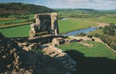 Dryslwyn Castle. Situated on a majestic hilltop location above the Tywi Valley.