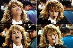 """Sally (Meg Ryan) to Harry (Billy Crystal): """"Oh...Oh god...Ooo Oh God...Oh...Oh...Oh...Oh God... Oh yeah right there Oh! Oh...Yes Yes Yes Yes Yes Yes...Oh...Oh...Yes Yes Yes....Oh...Yes Yes Yes Yes Yes Yes...Oh...Oh... Oh...Oh God Oh... OHH-H-H!"""" -- from When Harry Met Sally (1989) directed by Rob Reiner"""