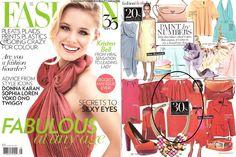 Rachel Sin Caroline Dress featured in May 2012 issue of Fashion Magazine www.rachelsin.com