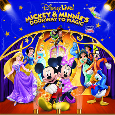 Come see all of your favorite Disney Characters with Disney Live! March 20 at 1pm and 4pm!