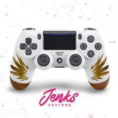 Items similar to Mercy Custom Overwatch Controller on Etsy Control Ps4, Overwatch Ps4, Mundo Dos Games, Gaming Station, Xbox Controller, Cool Technology, Ps4 Games, Iphone 7 Plus Cases, Sony Playstations