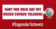 Sagen Sie der Schweiz, was Ihnen am Herzen liegt. Und mit etwas Glück wird Ihre Botschaft schon bald als Inserat publiziert. #SagesDerSchweiz