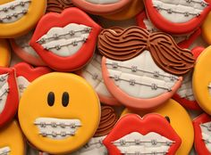 Orthodontist Cookies Close Up HR 2 | Flickr - Photo Sharing!