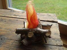 """Das portable Lagerfeuer ist wohl das ideale Geschenk für alle die auf flackernde Lagerfeuerromantik nicht verzichten wollen :) Damit es auch """"t..."""