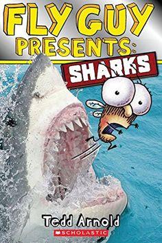 Fly Guy Presents: Sharks by Tedd Arnold http://www.amazon.com/dp/0545507715/ref=cm_sw_r_pi_dp_7x0Dub0Y78QZA