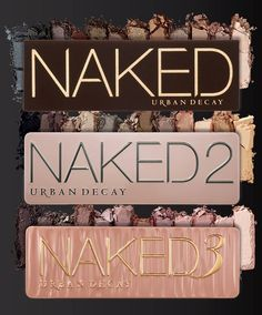Naked 1, 2 and 3 - Urban Decay