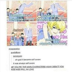 THE DO IN THE MANGA READ IT ITS GREAT : Ouran High School Host Club