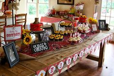 Country-western birthday party - printables from Chickabug